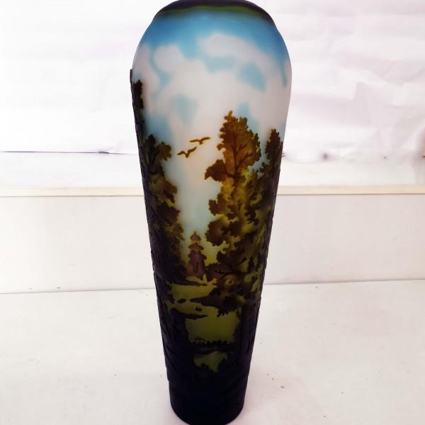 Стъклена ваза Гале