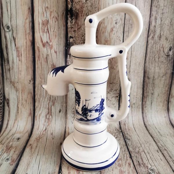 Голяма декоративна помпа за вода Блу Делфт