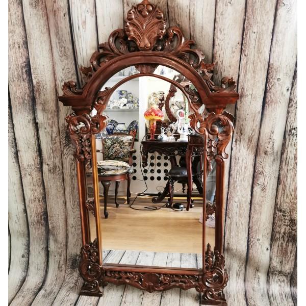 Огледало с дърворезба