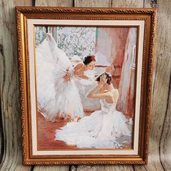 Картина с балерини