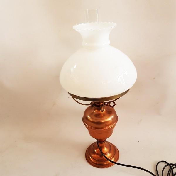 Настолна лампа с газено шише