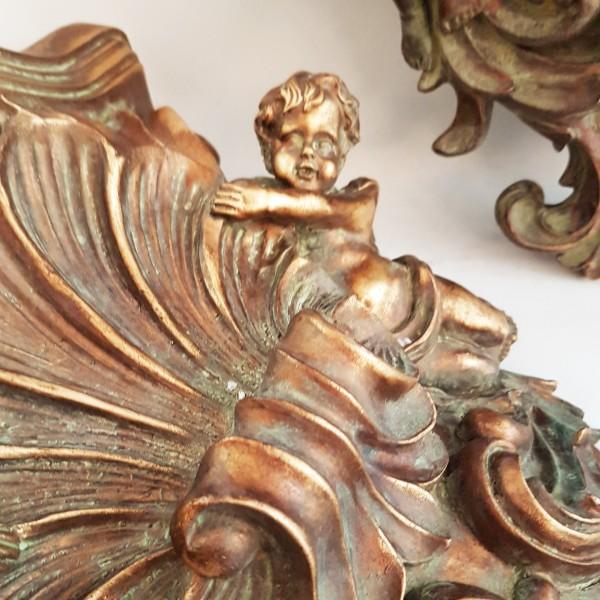 """Декоративна конзола за стена """"Ангели"""""""