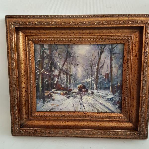 Зимен горски пейзаж
