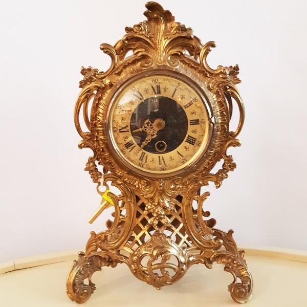 Каминен часовник от месинг