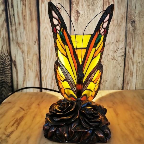 """Лампа """"Пеперуда"""" в стил Тифани"""