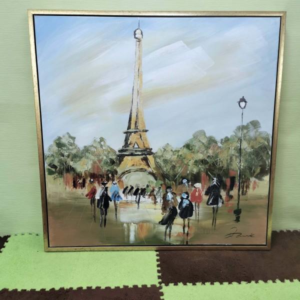"""Голям пейзаж """"Улиците на Париж"""""""