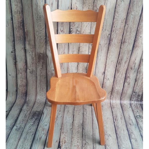 Комплект 4бр. столове светъл дъб