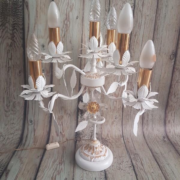 Настолна лампа - канделабър