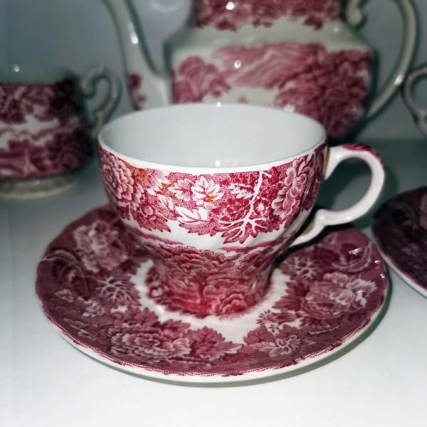 Английски сервиз за хранене и чай Woods & Sons