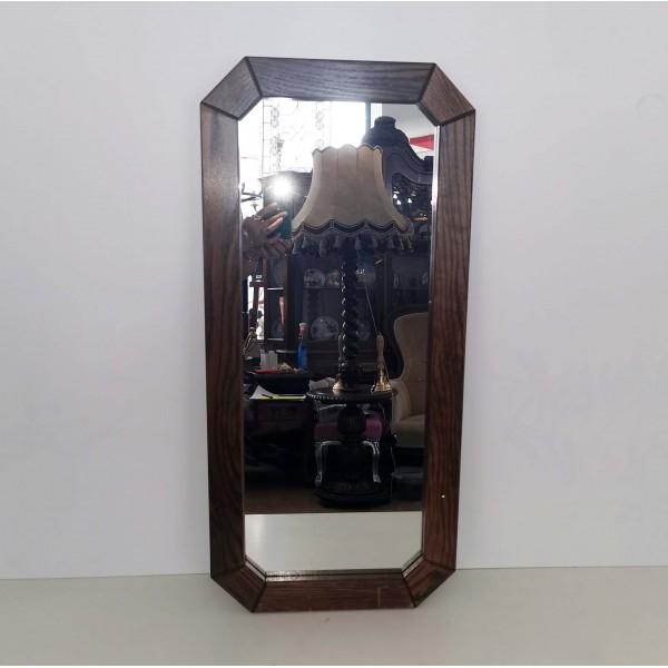 Дъбово стенно огледало