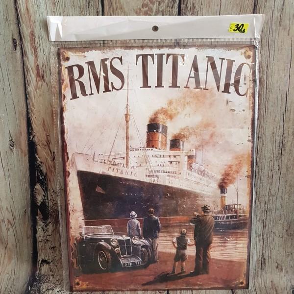 """Метален плакат """"Титаник"""""""