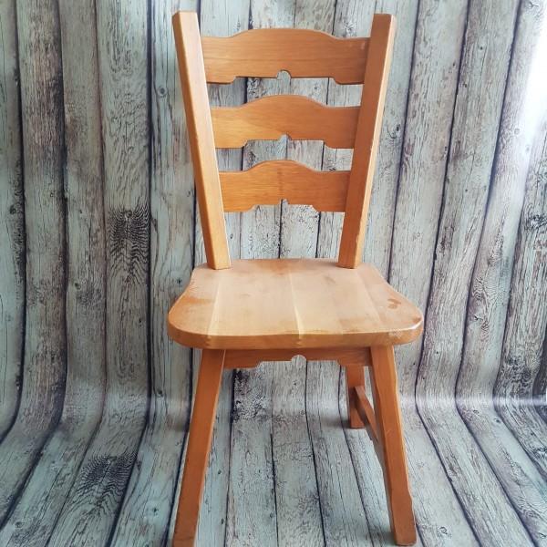 Комплект 4бр. дъбови столове