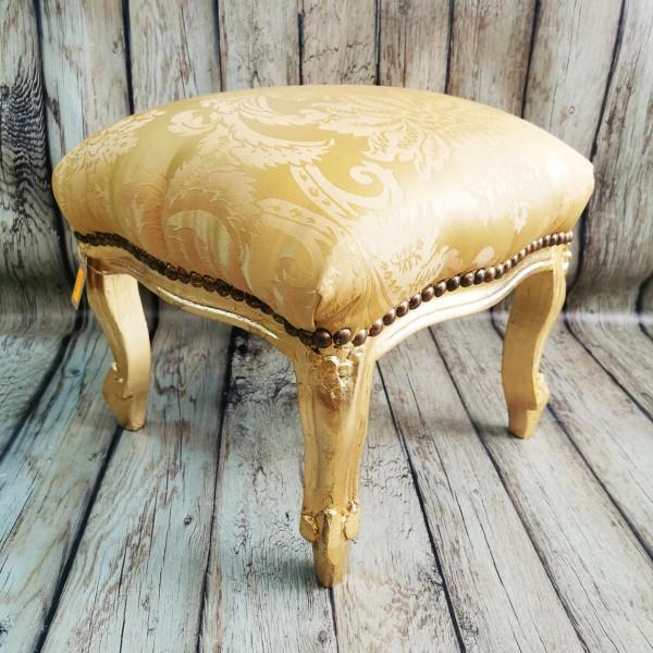 Табуретка барок-златна