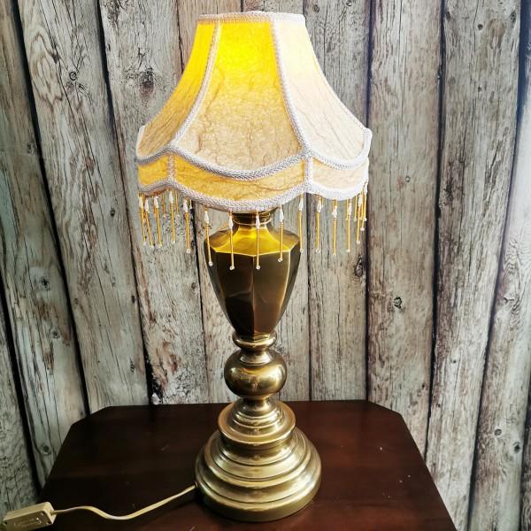 Настолна лампа от месинг