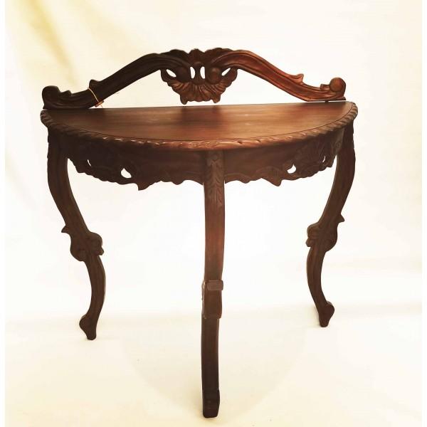 Конзолна маса с дърворезби