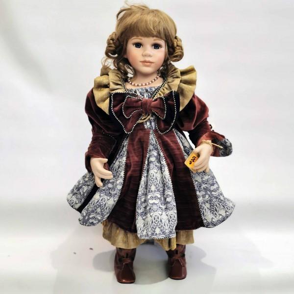 Голяма порцеланова кукла 60см