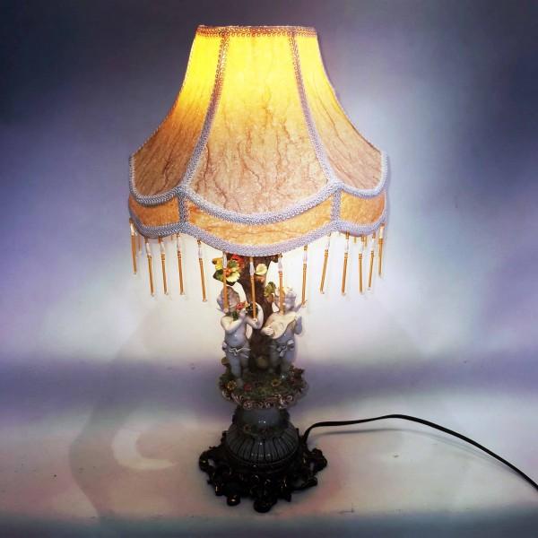 Италианска порцеланова лампа Carmenta