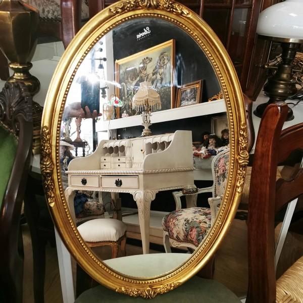 Овално огледало за стена барок