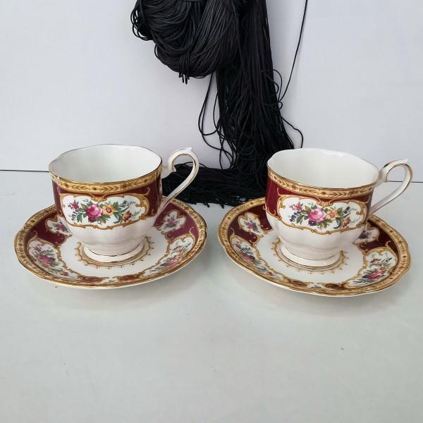 Royal Albert, Lady Hamilton, чаша с чинийка