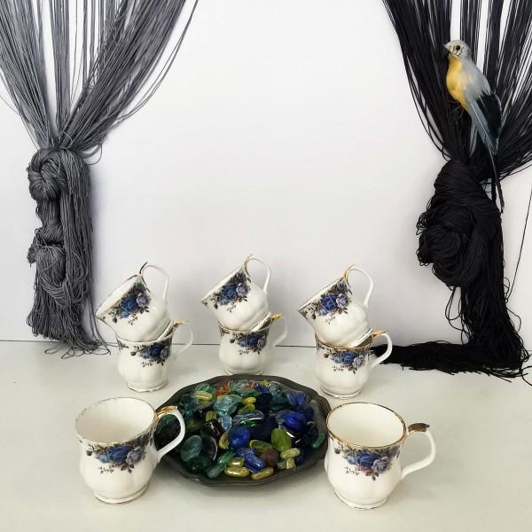 Royal Albert, Moonlight Rose, 8 чаши (Coffee mug)