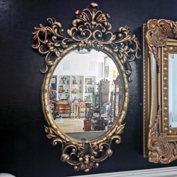 """Малко огледало за стена """"Барок"""""""