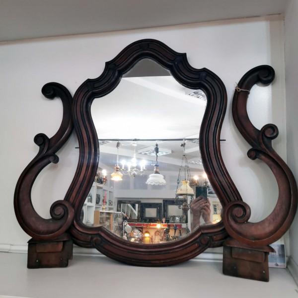 Старинно огледало за конзолна маса