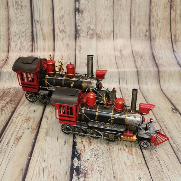 Метален ретро локомотив малък
