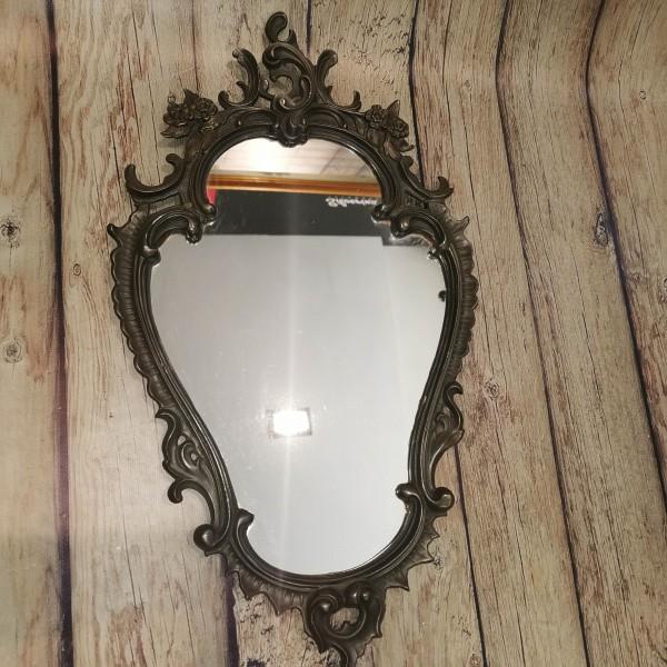 Старинно стенно метално огледало