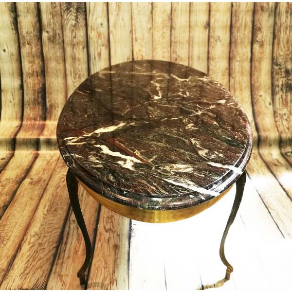 Холна маса от месинг и мрамор