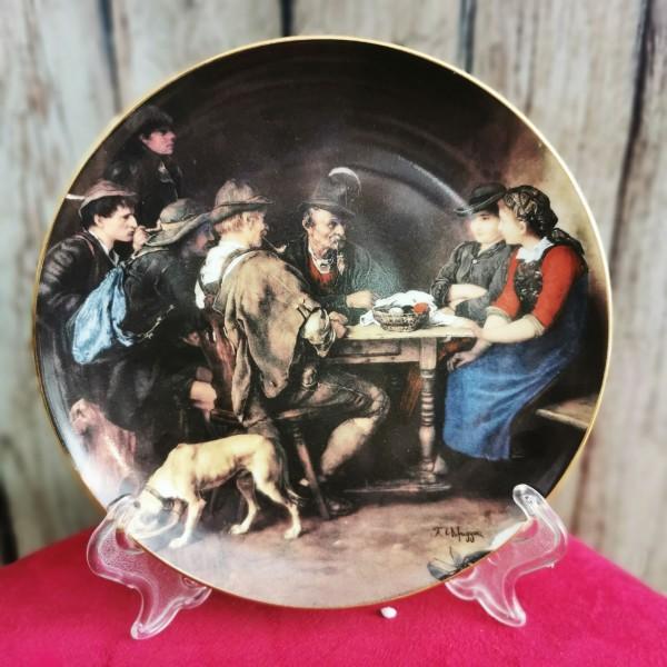 Австрийска чиния за стена