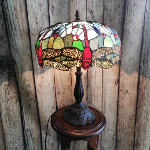 Голяма настолна лампа, стил Тифани