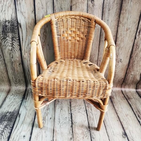 Детско ратаново кресло