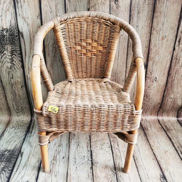 Детско ратаново столче