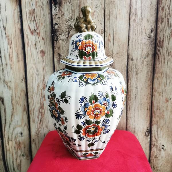 Голяма ваза Делфт Полихром