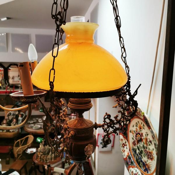 Лампа с газено шише, тип коломбо