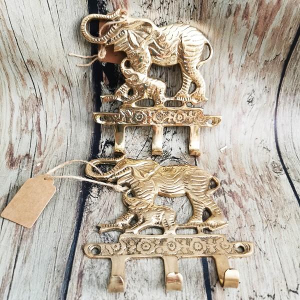 Месингова закачалка - слонове