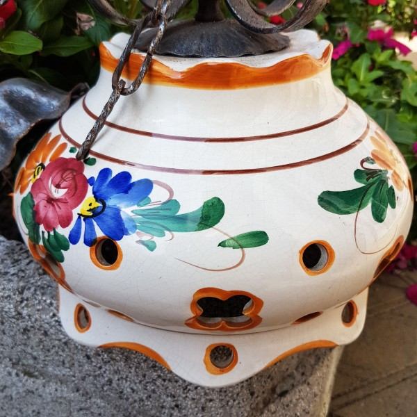 Лампа италианска керамика